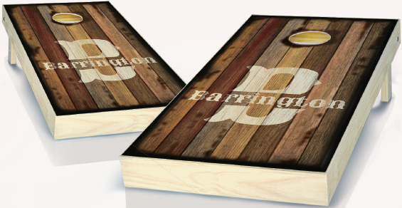 Stained Custom Cornhole Boards