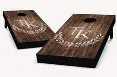 Custom Monogram Cornhole Boards