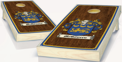 Family Crest Cornhole Sets
