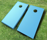 Baby Blue Cornhole Boards