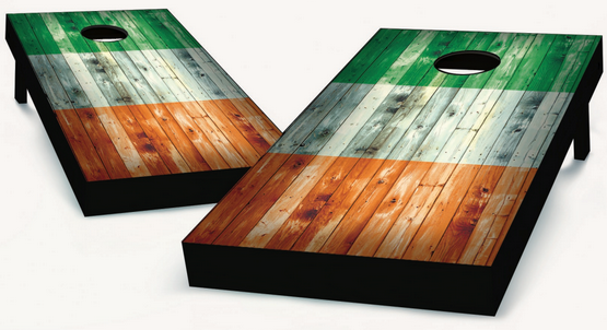 Ireland Flag Cornhole Boards
