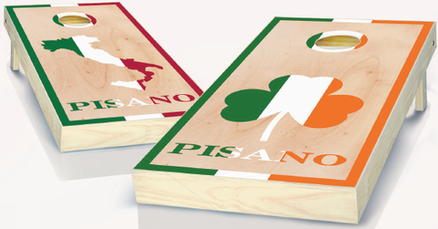 Personalized Italian Cornhole Boards