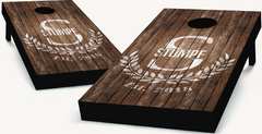 Monogram Cornhole Boards