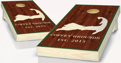 Personalized State Custom Cornhole Boards