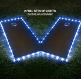 Border Cornhole Lights