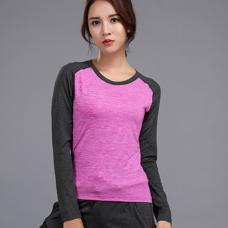 2c07c3bc120 Plus Size T Shirt Women Breathable Elasticity 2018 Autumn Fashion Long –  Shopperzstock