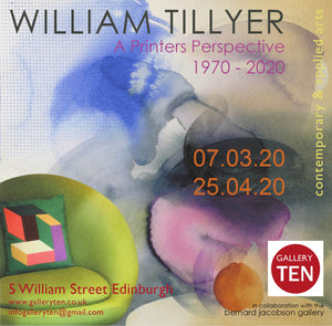 WILLIAM TILLYER EXHIBITION - 07.03.20 - currently unknown