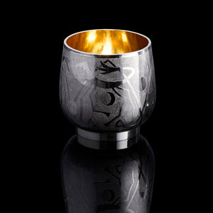 Karen Westland - Silversmith - Lunar Unicorn Beaker - Gallery TEN - Collect 2021