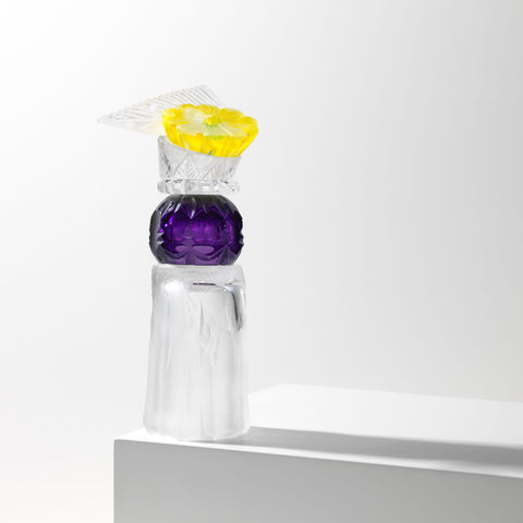 Juli Bolaños-Durman - Violeta - Gallery TEN - COLLECT 2021 - Art Glass Gallery - Modern Art Gallery