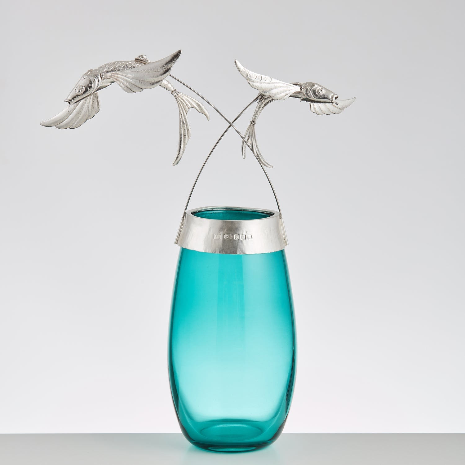 Bryony Knox - Flying Fish Vase - Gallery TEN - Silversmith - Modern & Contemporary Art Gallery