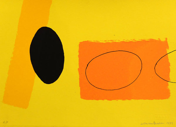 Orange & Lemon Playing Games - Wilhelmina Barns Graham - Gallery TEN - Graal Press - original prints