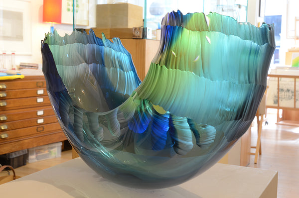 Graham Muir - Oceanvessel - Gallery TEN - Art Glass - Scottish Artist