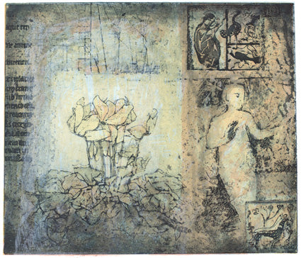 Victoria Crowe - Real & Imagined - Gallery Ten - Original Print - etching