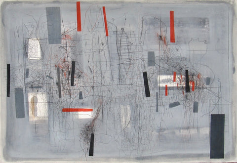 Aileen Keith - Flux 2 - Gallery Ten - Mixed Media - Scottish Artist