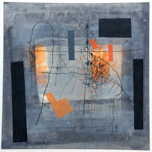 Aileen Keith - Flux 4 - Gallery Ten - Mixed Media - Scottish Artist