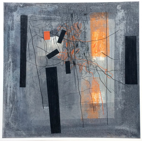 Aileen Keith - Flux 6 - Gallery Ten - Mixed Media -  Scottish Artist