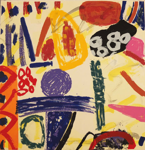 Gillian Ayres - Much is the Force of a Heaven bred Poesy - Gallery Ten - Original Print