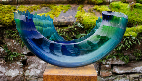 Graham Muir - Oceanvessel - Gallery TEN - Contemporary Art Glass Gallery