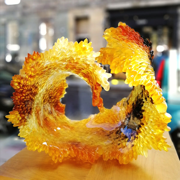 Nina Casson-Mcgarva - Autumn - Gallery Ten - Art Glass - Studio Glass