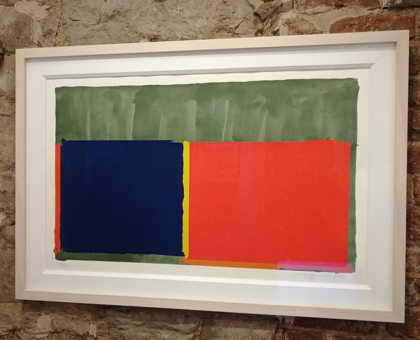 John Hoyland - Red, Blue