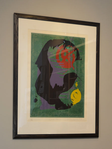 John Hoyland - Space Bourne - 1993 - Screenprint - Gallery TEN - Original Prints - Modern Prints