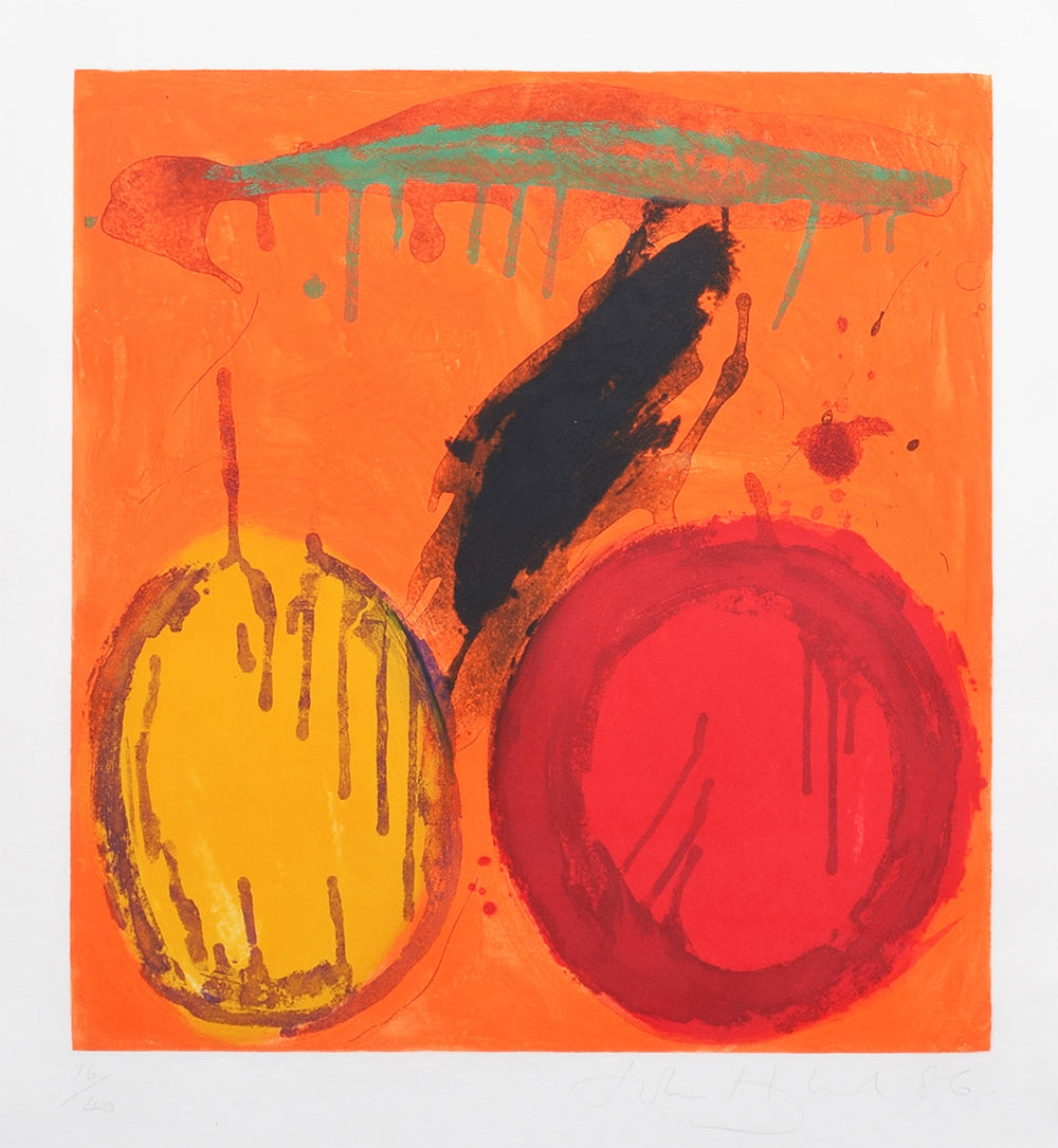John Hoyland - Wish - Gallery Ten - Etching - Original Print
