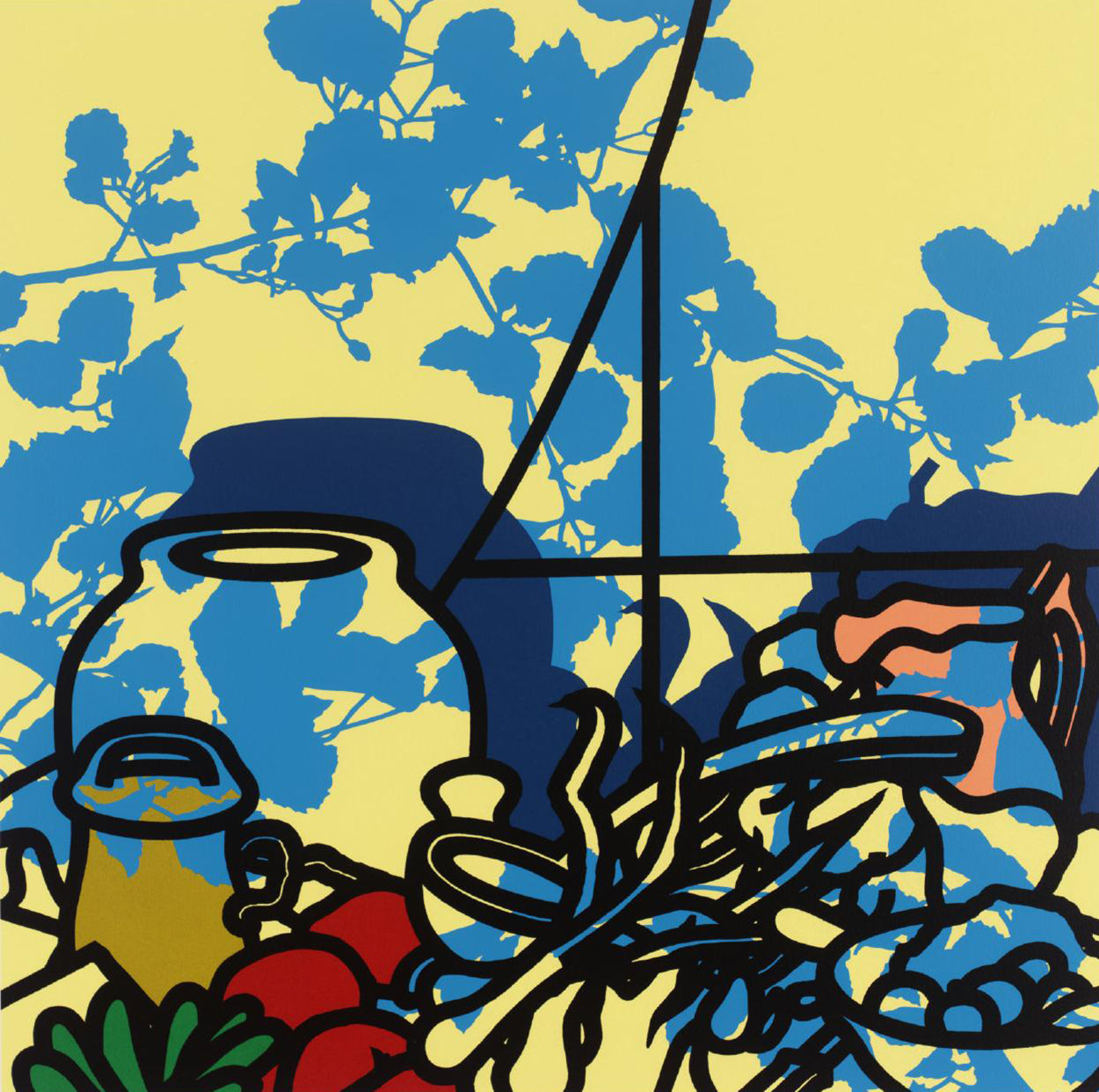 Patrick Caulfield - Still Life Ingredients