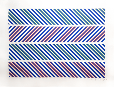 Bridget Riley - Rothko Portfolio - Gallery TEN - Original Prints - Modern & Contemporary Art Gallery
