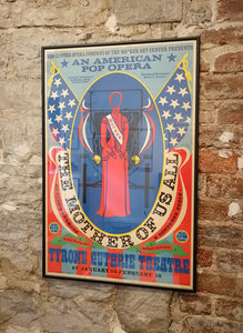 Robert Indiana - The Mother of Us All - Gallery Ten - Art Poster - American Artist - Modern Art
