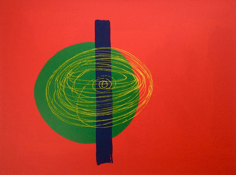 Wilhelmina Barns-Graham - Runabout Time - Screenprint - Graal Press - Gallery TEN - Original Print