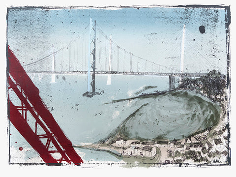 Kelly Stewart - Forth Crossing - Gallery Ten - Original Print