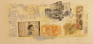 Victoria Crowe - Drawn from Italy - Gallery Ten - Original Print - Graal Press