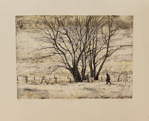 Victoria Crowe -  Large Tree Group | Winter - Gallery Ten