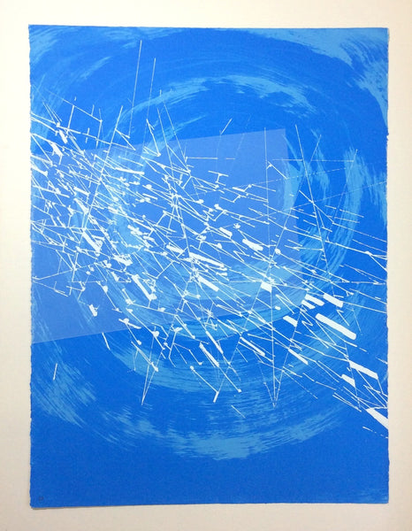 Wilhelmina Barns-Graham - Vision in Time  - Screenprint - Graal Press - Gallery TEN - Original Print