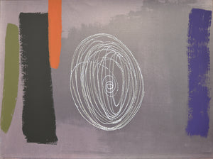 Wilhelmina Barns Graham - Walkabout Time - Gallery TEN - Graal Press - Screenprint - St Ives Group - Original Prints