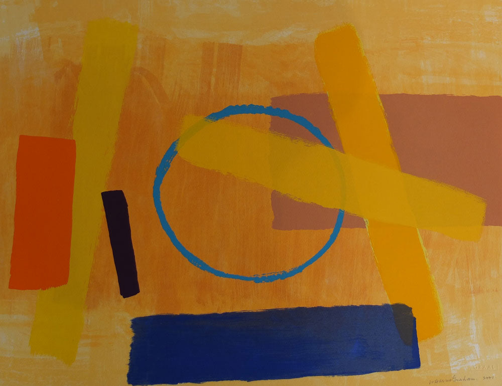 Wilhelmina Barns-Graham - Sunghrie II - Gallery Ten - Original Print