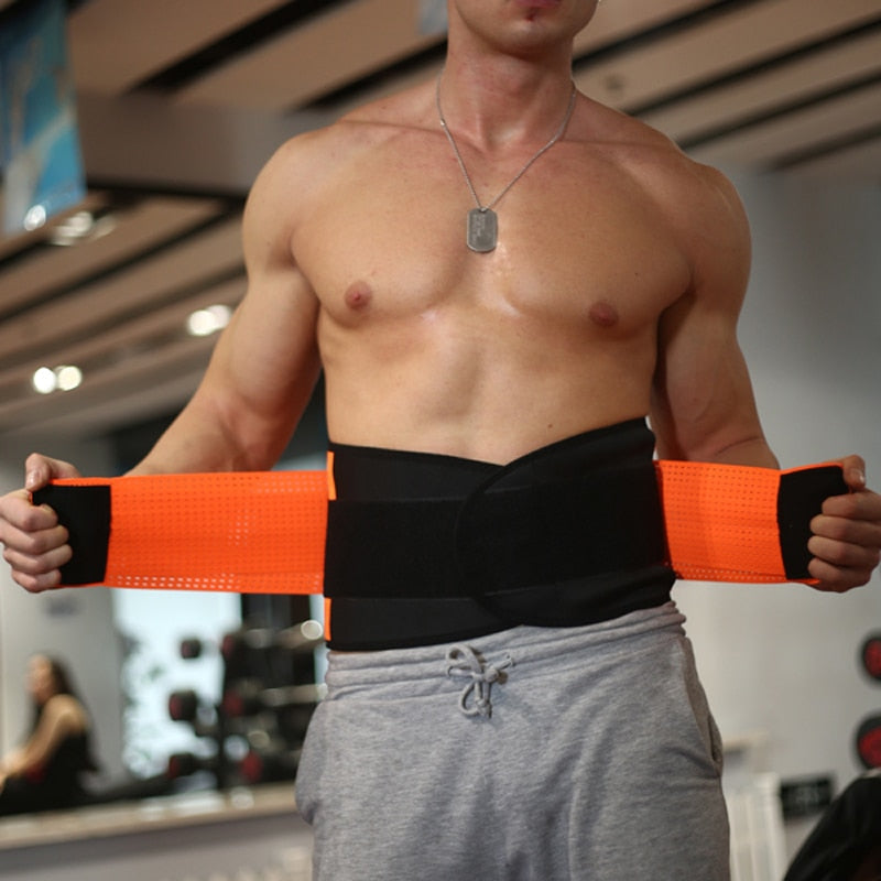 Neoprene Waist Trainer with Back Support