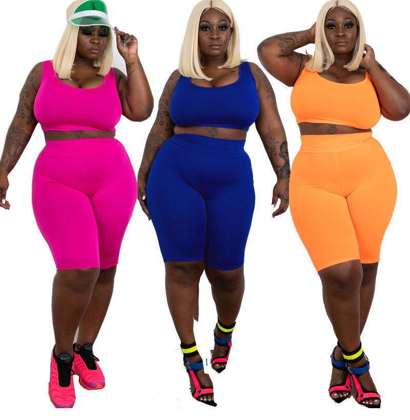 Neon Plus Size Training Set XL-5XL