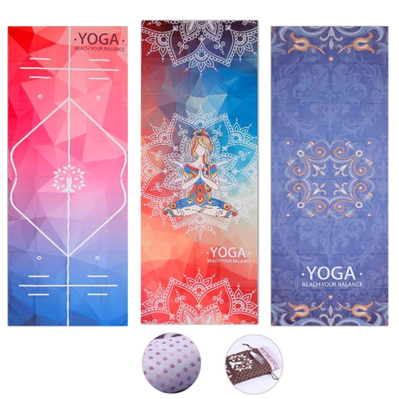 Absorb Sweat Yoga Towel {Non Slip)