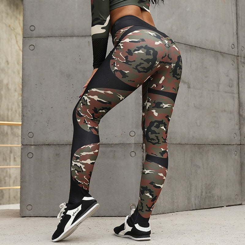 Heart Beat Booty Sculpting Fitness Leggings