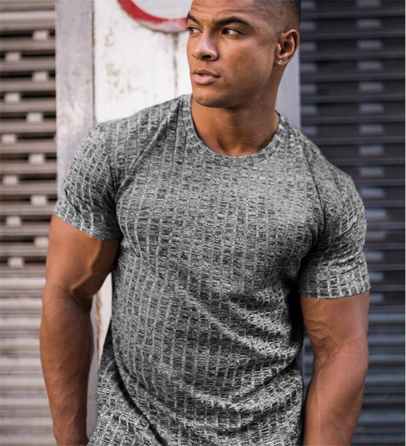 Knit Muscles T-shirt for Men
