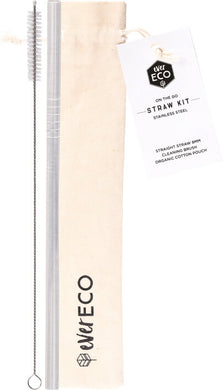 On the Go Straw Kit Stainless Steel