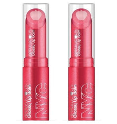 Nyc Applelicious Glossy Lip Balm, 353 Pink Lady Choose Your Pack, Lip Balm & Treatments, NYC, reddonut.com