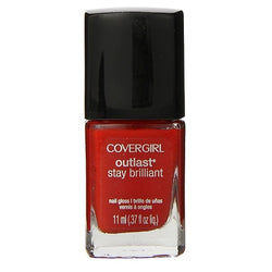 Covergirl Outlast Stay Brilliant Nail Polish, 175 Ever Reddy Choose Your Pack, Nail Polish, reddonut, reddonut.com