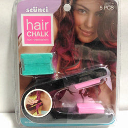 Scunci Hair Chalk Pink & Green Color, Hair Color, Scunci, reddonut.com