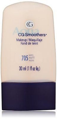 Covergirl Aqua Cg Smoothers Hydrating Liquid Foundation 156 Ivory Choose Ur Pack, Foundation, CoverGirl, reddonut.com