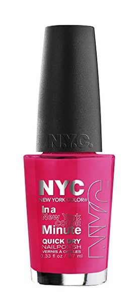 Nyc New York Minute Quick Dry Nail Polish, 240 Midtown Choose Your Pack, Nail Polish, NYC, reddonut.com