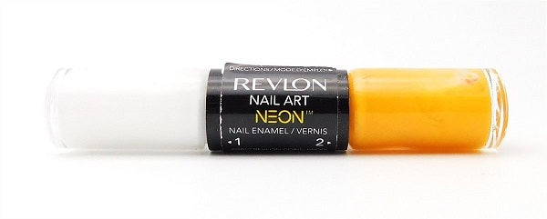 Revlon Nail Enamel Duo Nail Polish, 110 High Voltage Choose Your Pack, Nail Polish, Revlon, reddonut.com