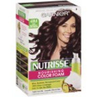 Nutrisse Permanent Haircolor, Iced Mahogany Dark Brown 41m, 1 Ct (Pack Of 3), Hair Color, Garnier, reddonut.com