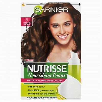 Garnier Nutrisse Nourishing Color Foam Permanent Hair Color (CHOOSE YOUR COLOR), Hair Color, Garnier, reddonut.com